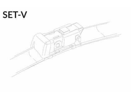 """SET V 26""""/16"""" 650 + 400 mm sada predných stieračov"""