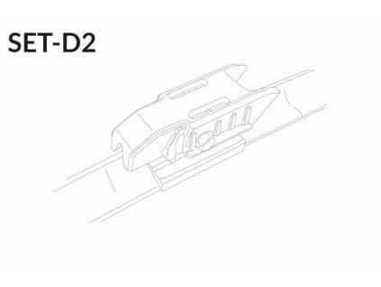 """SET D2 22""""/16"""" 550 + 400 mm sada predných stieračov"""