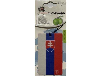 SK vlajka osviezovac