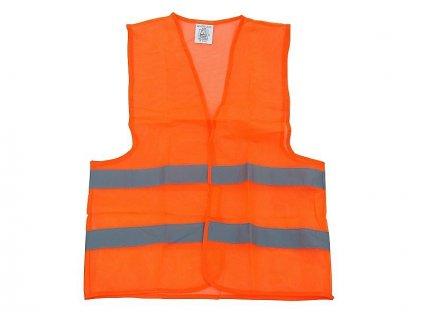 Reflexná vesta (oranžová, veľkosť - uni)