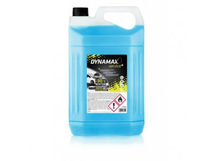 Dynamax Screenwash service+ Nemrznúca zmes do ostrekovačov (-30 °C) 5 l