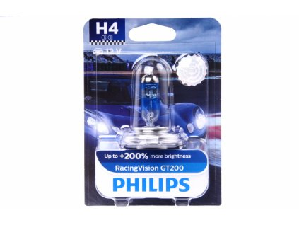 Philips RacingVision GT200 H4 P43t 12V 60/55W