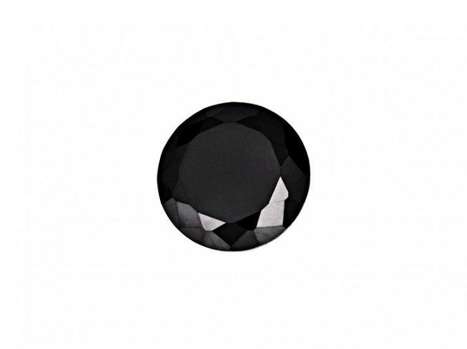 Černé kubické zirkony