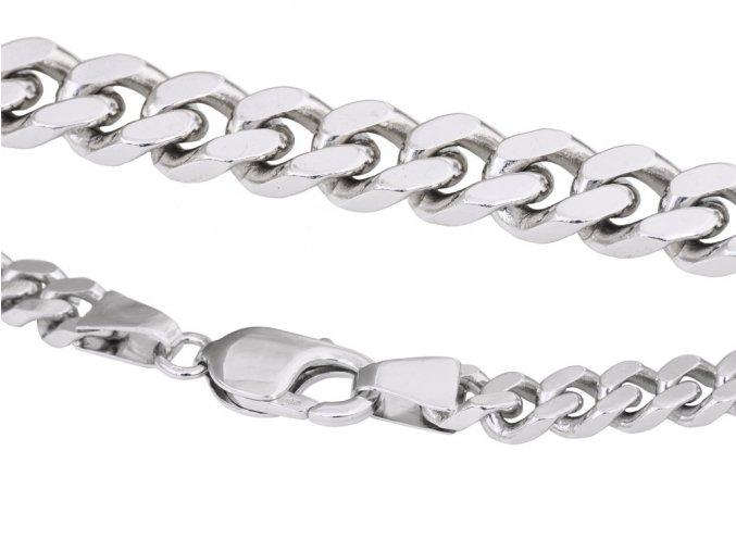 Řetěz pánský stříbrný 50cm / 62g