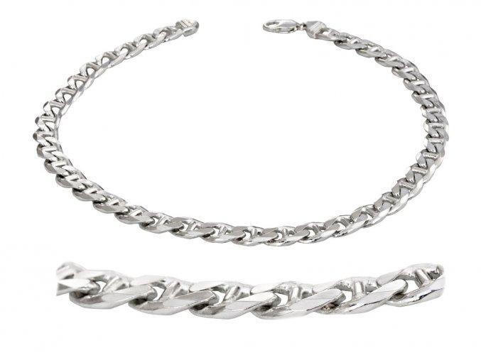 Řetěz pánský stříbrný 50cm / 98g