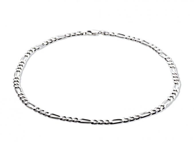 Řetěz pánský stříbrný 58cm / 56,04g