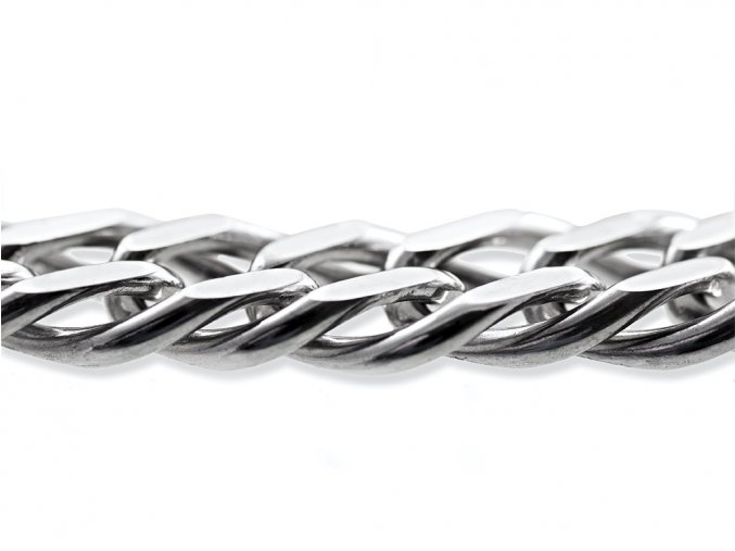 Řetěz pánský stříbrný 60cm / 54g