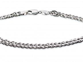 Pánský stříbrný řetízek - řetěz - náhrdelník