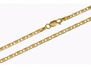 Řetízek zlatý - náhrdelník