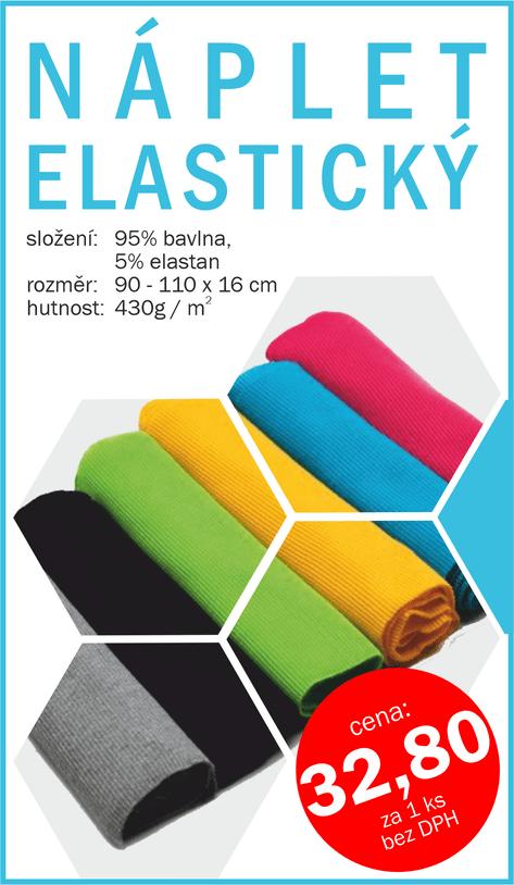 Náplet elastický - vert