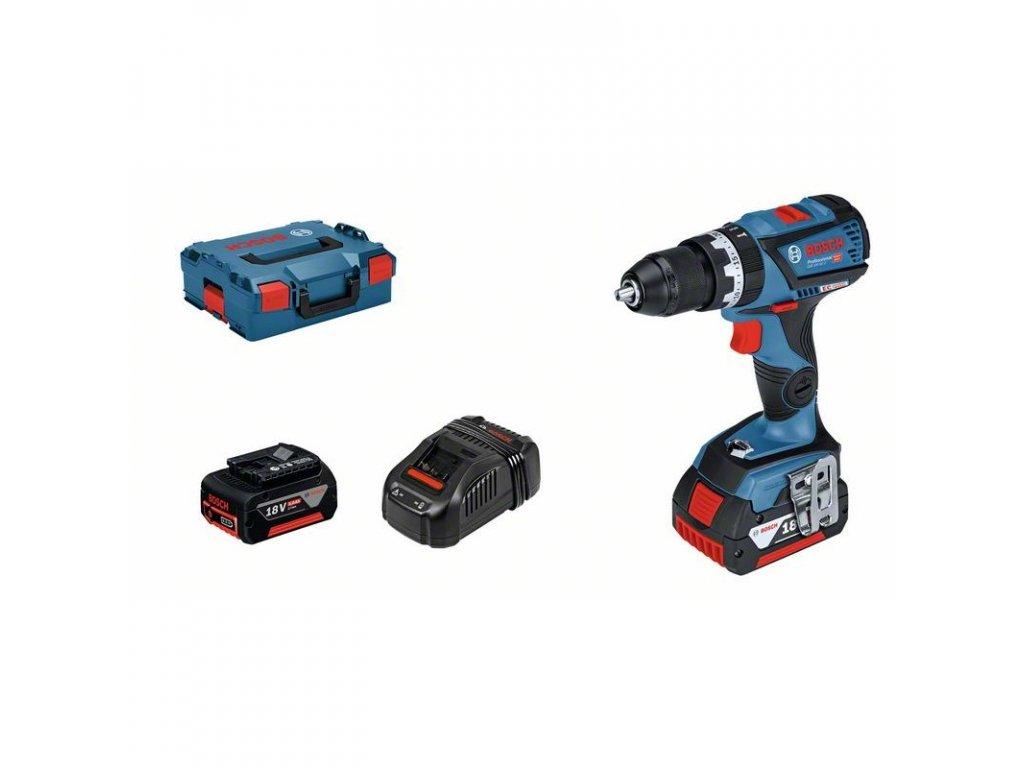 219108 21 akumulatorovy kombinovany sroubovak gsb 18v 60 c professiona 06019g2100