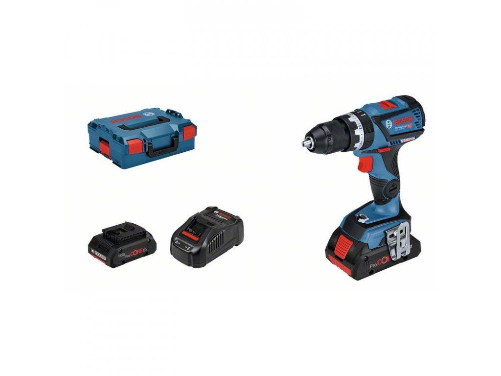 219111 21 akumulatorovy kombinovany sroubovak gsb 18v 60 c professiona 06019g2107