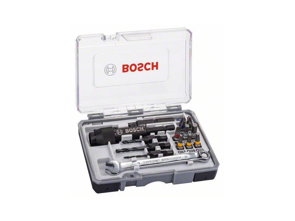 230658 20dilna sada sroubovacich bitu drill drive ph2 ph2 pz2 sl5 h4 h5 t15 t20 t25 2607002786