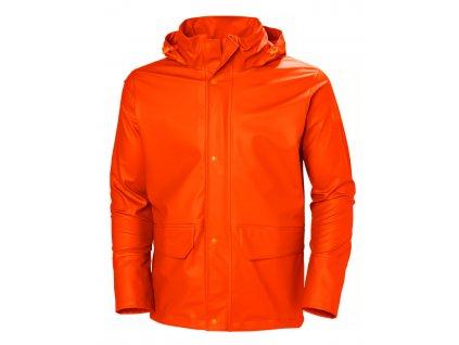 Bunda do deště GALE Helly Hansen - oranžová L oranžová (velikost 2XL)