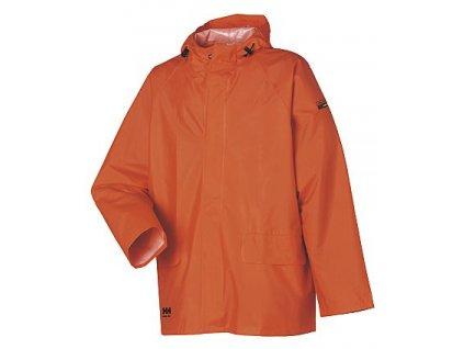 Bunda do deště MANDAL Helly Hansen - tmavě oranžová XS tmavě oranžová (velikost 2XL)