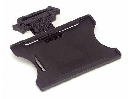 Držák ID karet UNI černá (velikost UNI)