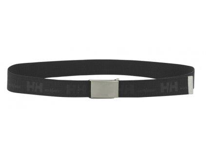 Elastický opasek HH WEBBING Helly Hansen - černý UNI černá (velikost UNI)