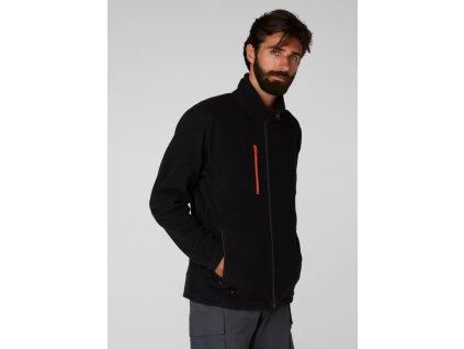 Fleecová bunda OXFORD Helly Hansen - černá XS černá (velikost XL)