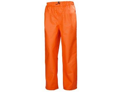 Kalhoty do deště GALE Helly Hansen - oranžové L oranžová (velikost 4XL)