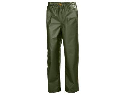 Kalhoty do deště GALE Helly Hansen - zelené L zelená (velikost 2XL)