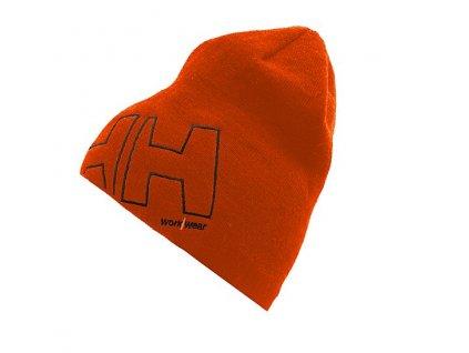 Kulich HH WW BEANIE - oranžový UNI oranžová (velikost UNI)