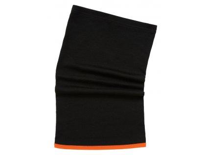 Merinový nákrčník HH LIFA MERINO Helly Hansen UNI černá (velikost UNI)