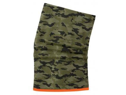 Nákrčník LIFA MERINO Helly Hansen - camouflage UNI Camo (velikost UNI)