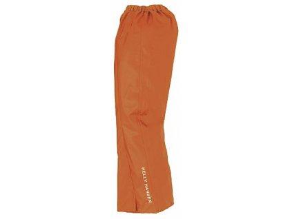 Nepromokavé kalhoty VOSS - oranžová XS tmavě oranžová (velikost 2XL)
