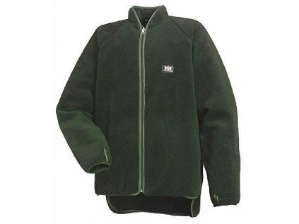 Oboustranná bunda BASEL Helly Hansen - tmavě zelená S tmavě zelená (velikost 2XL)