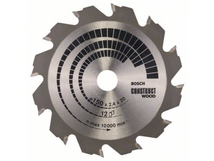 243474 pilovy kotouc construct wood 150 x 20 16 x 2 4 mm 12 2608641199