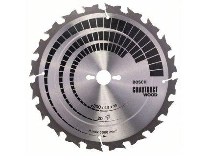 243354 pilovy kotouc construct wood 300 x 30 x 2 8 mm 20 2608640700