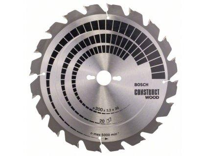 243192 pilovy kotouc construct wood 300 x 30 x 3 2 mm 20 2608640690