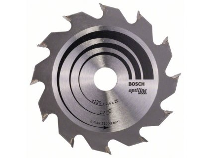 243432 pilovy kotouc optiline wood 130 x 20 16 x 2 4 mm 12 2608641167