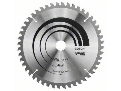243483 pilovy kotouc optiline wood 260 x 30 x 3 2 mm 48 2608641202