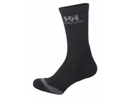 Ponožky FAKSE 37/39 černá (velikost 37/39)