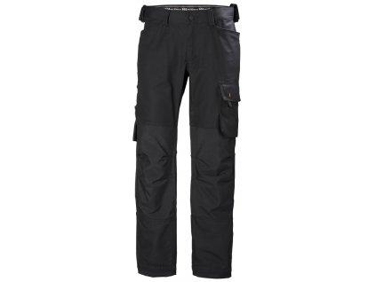 Pracovní kalhoty OXFORD Helly Hansen - černé 44 černá (velikost 44)