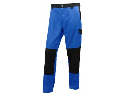 Pracovní kalhoty SHEFFIELD - modré/černé 44 modrá/černá (velikost 44)