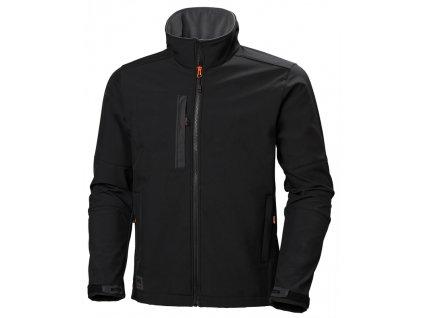 Softshellová bunda KENSINGTON Helly Hansen - černá S černá (velikost 2XL)