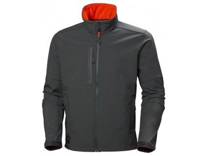 Softshellová bunda KENSINGTON Helly Hansen - tmavě šedá S tmavě šedá (velikost 2XL)