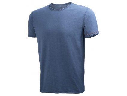 Tričko MJOLNIR Helly Hansen - ocelová S denim blue (velikost 2XL)