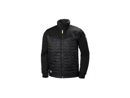 Zateplená bunda AKER INSULATED Helly Hansen - černá L černá (velikost 2XL)