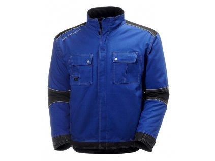 Zateplená pracovní bunda CHELSEA Helly Hansen - modrá/černá S modrá/černá (velikost 2XL)