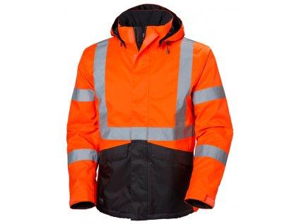 Zimní reflexní bunda ALTA Helly Hansen - oranžová XS oranžová Hi-Vis (velikost 2XL)