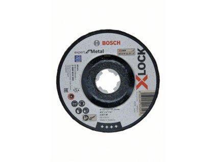 221745 brouseni s presazenym stredem expert for metal systemu x lock 125 6 22 23 a 30 t bf 125 mm 6 0 mm 2608619259