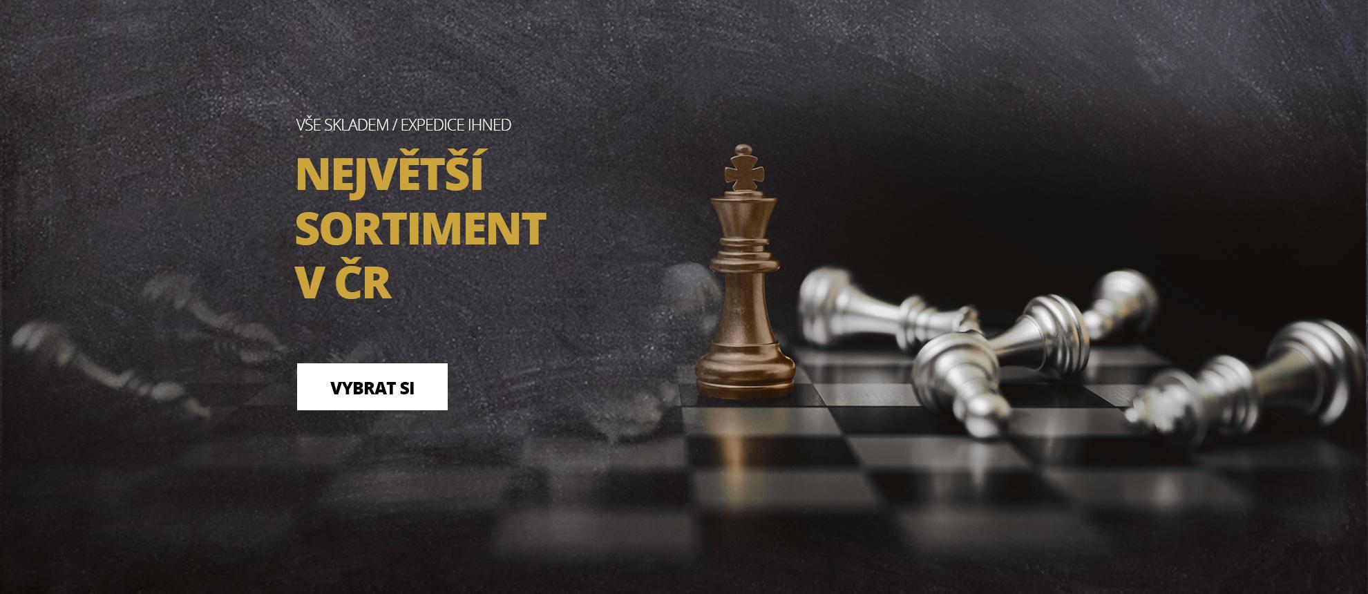 Nové šachové soupravy