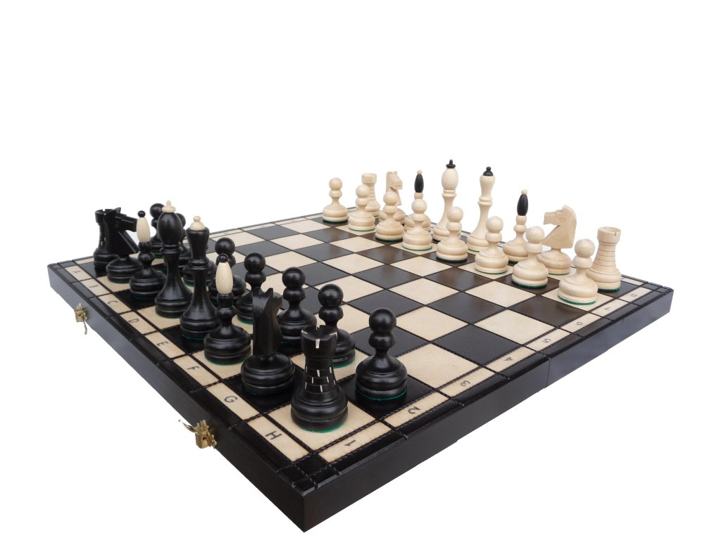 Šachová souprava ČESKÁ KLUBOVKA