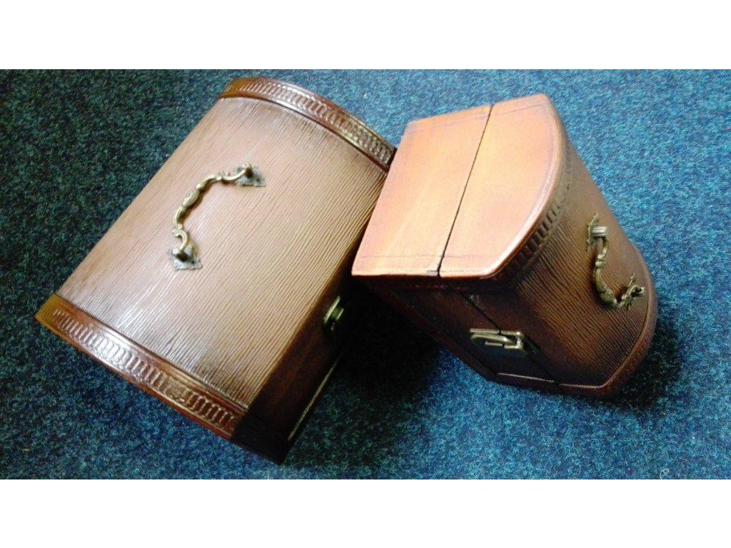 Dřevěná truhlička 2v1