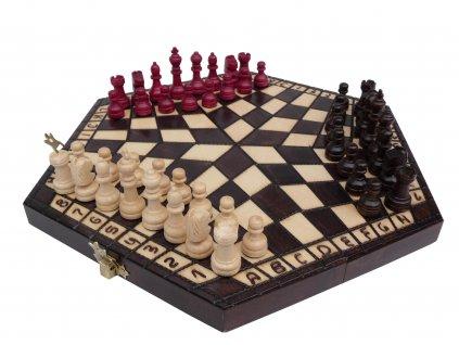 Šachová souprava PRO 3 HRÁČE M