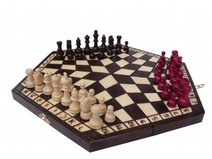 Šachová souprava PRO 3 HRÁČE S
