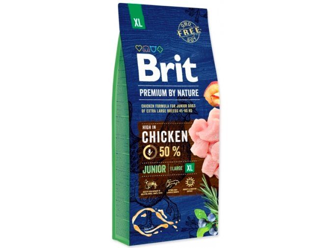 Brit Premium by Nature Junior XL 15 kg na aaagranule.cz